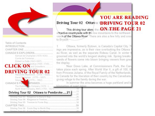 You Are Reading Driving Tour